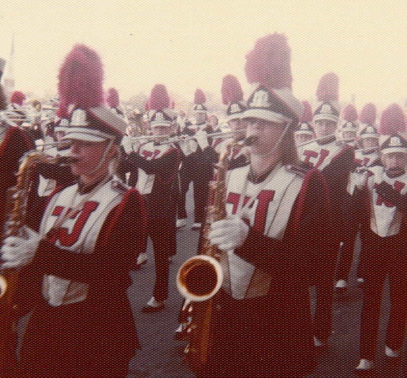 Thomas Jefferson Highschool Marching Band • Tom Hall • 1973