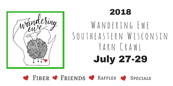 WANDERING EWE YARN CRAWL