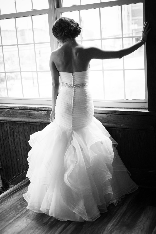 Top of the Market Bridal Portait
