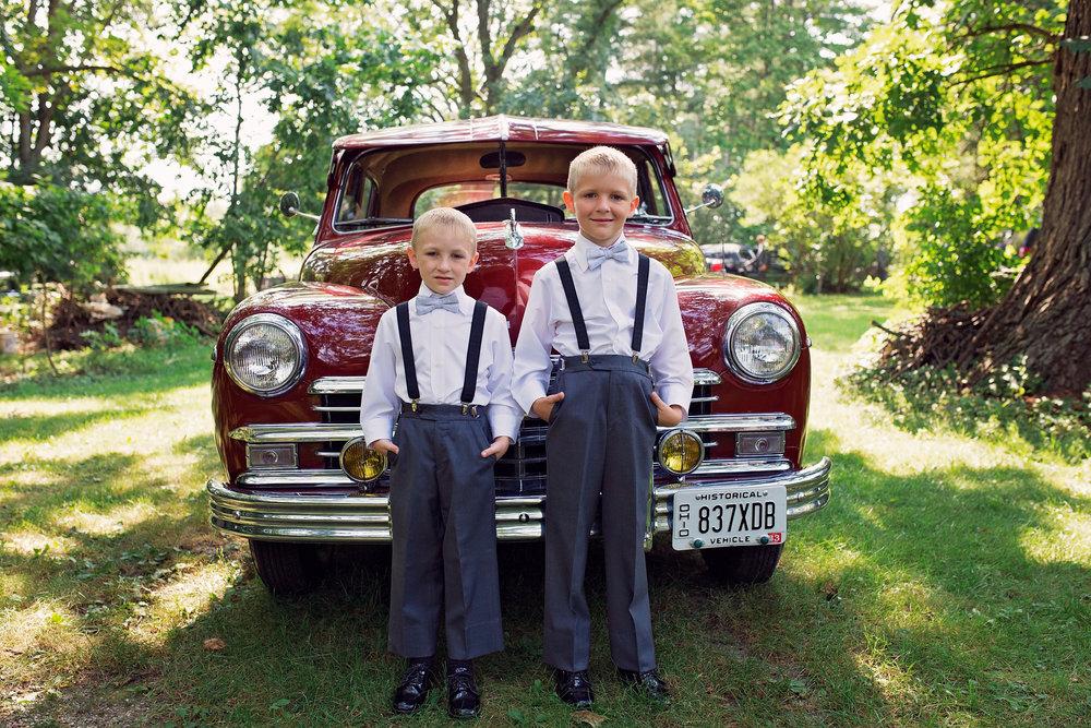 Classic Car Wedding Pictures