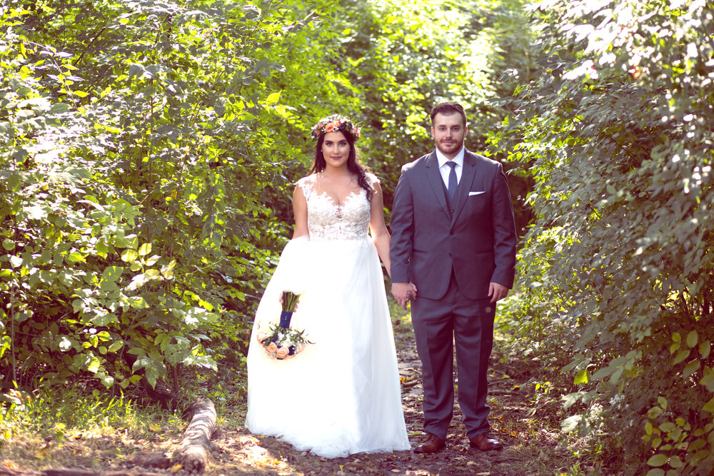 Mt. Airy  Park Wedding