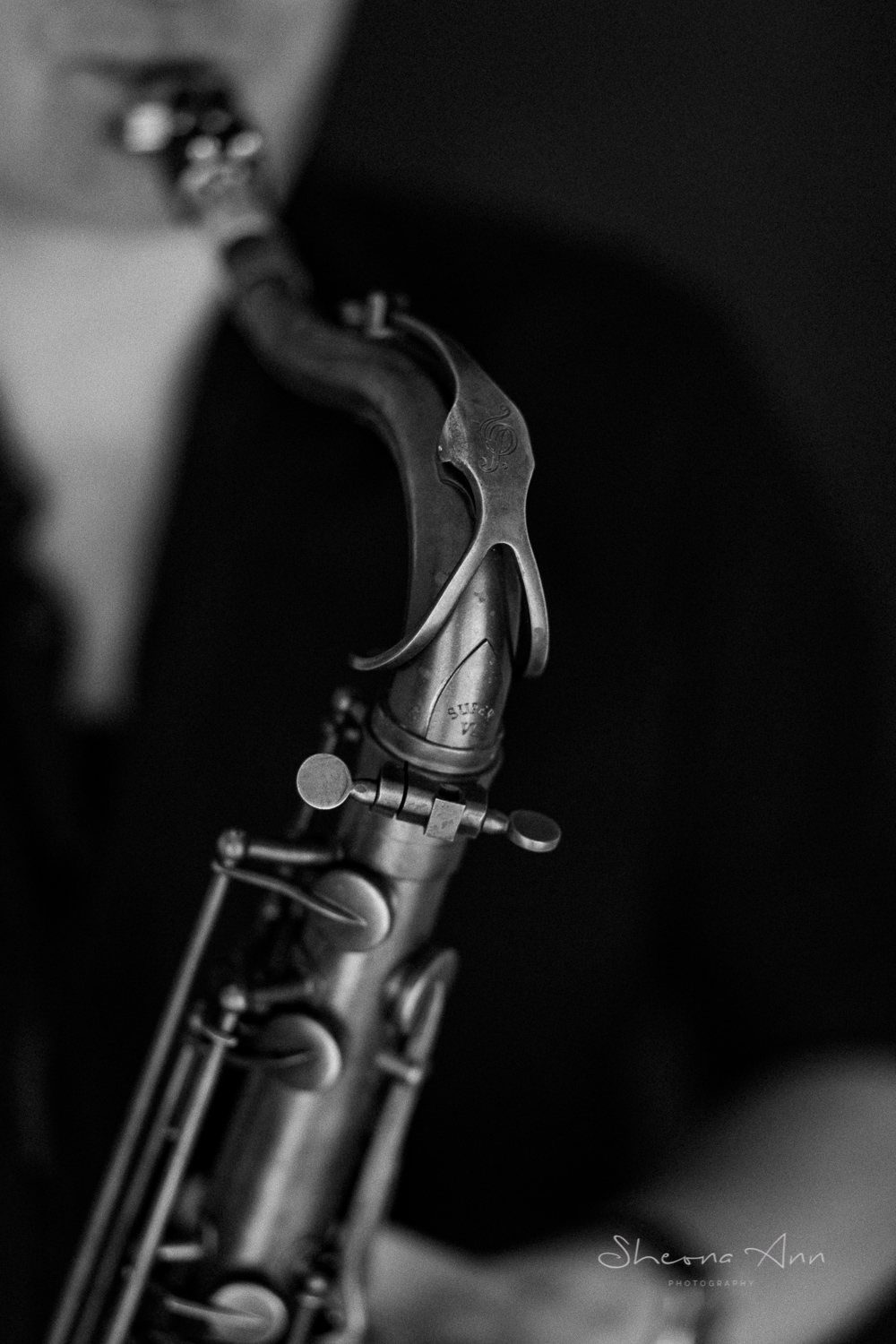 Detail of saxophone