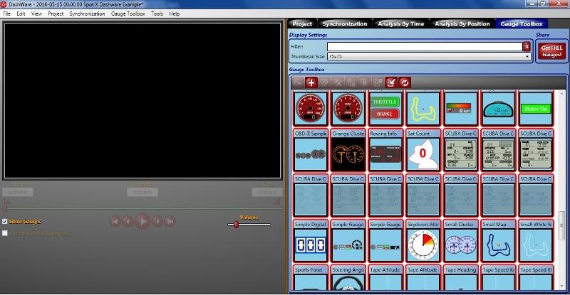 Spot X Blog Dashware Gauge