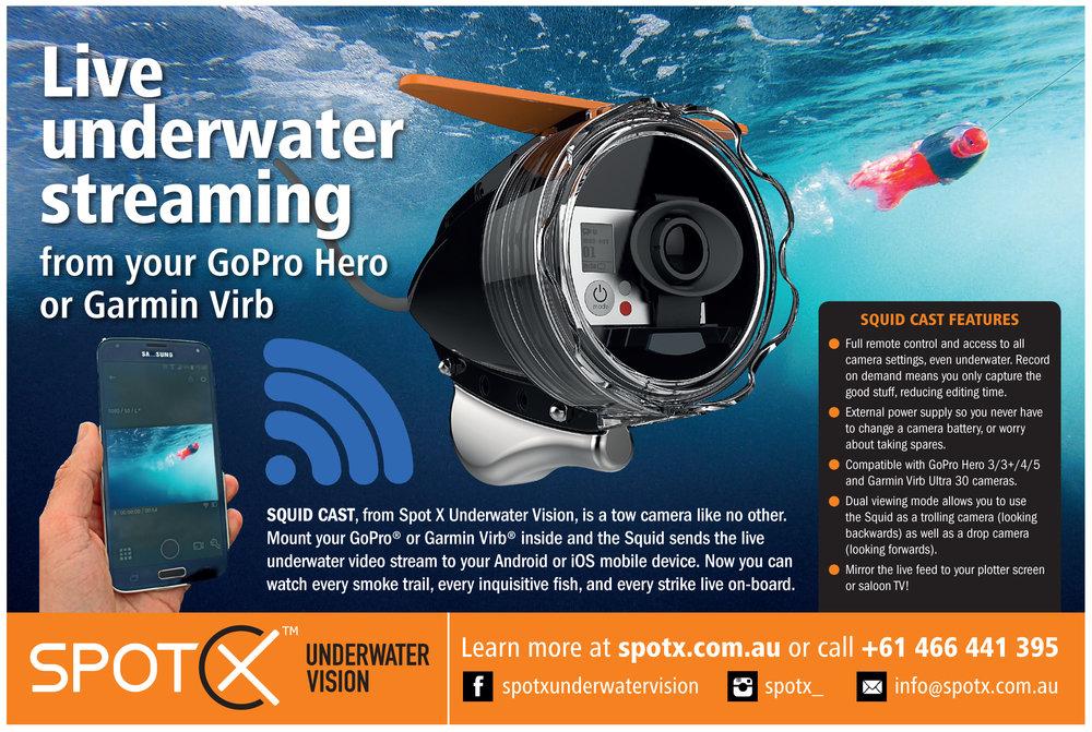 Spot X Bluewater Advertisement