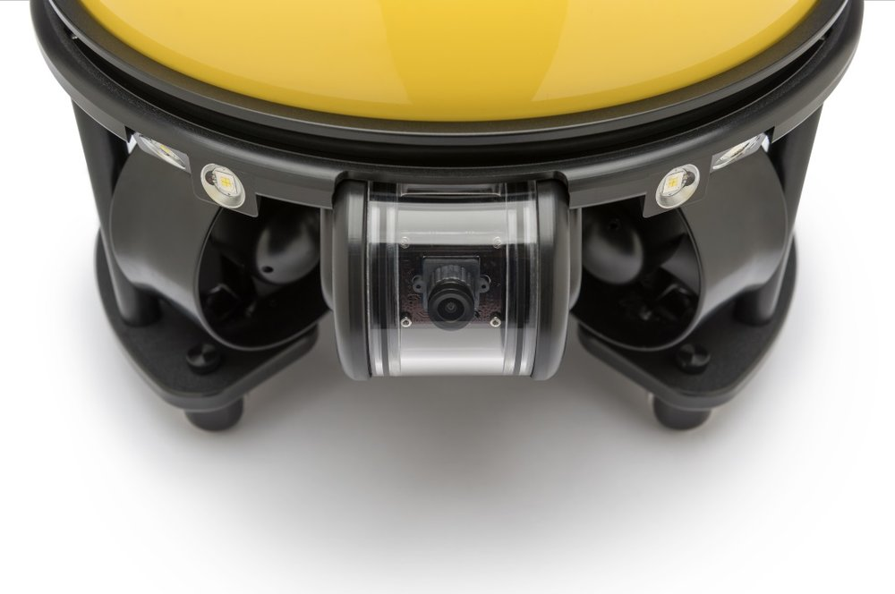 SeaDrone gimbal stabilised camera for outstanding clarity and quality