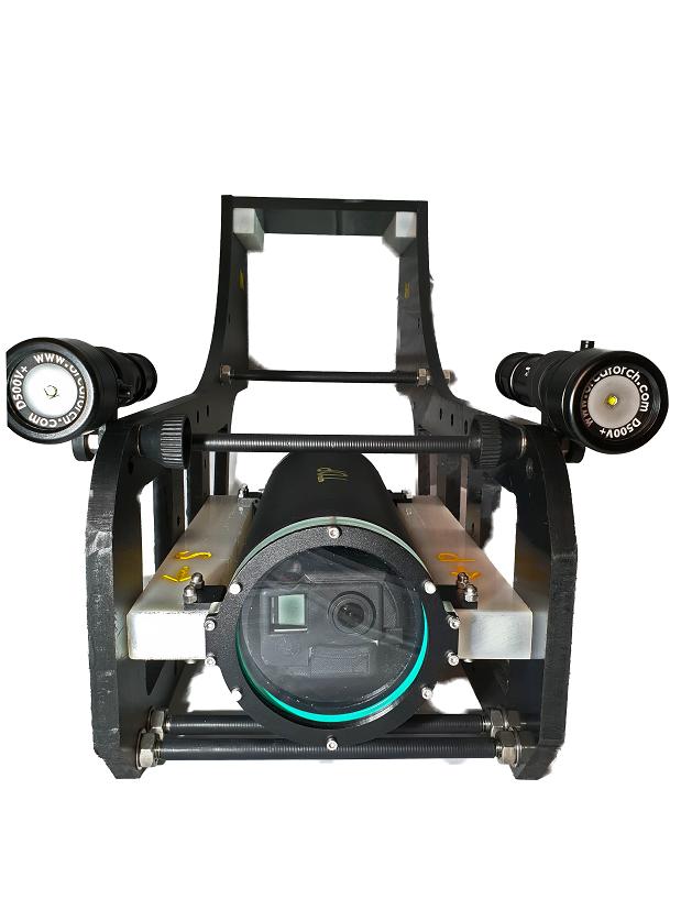 Custom deepwater drop camera