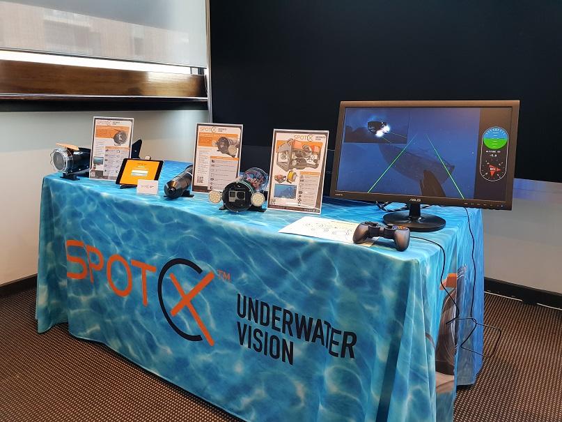 Spot X Underwater Vision ROV tow camera Vemco