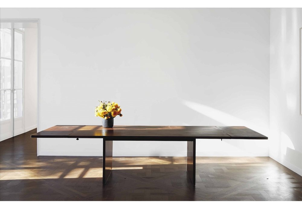 Jean Michel Frank Table en noyer