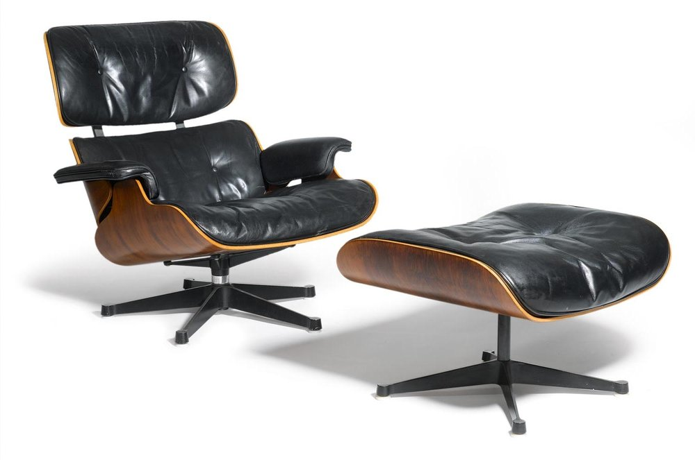 Charles & Ray Eames. Fauteuil dit Lounge