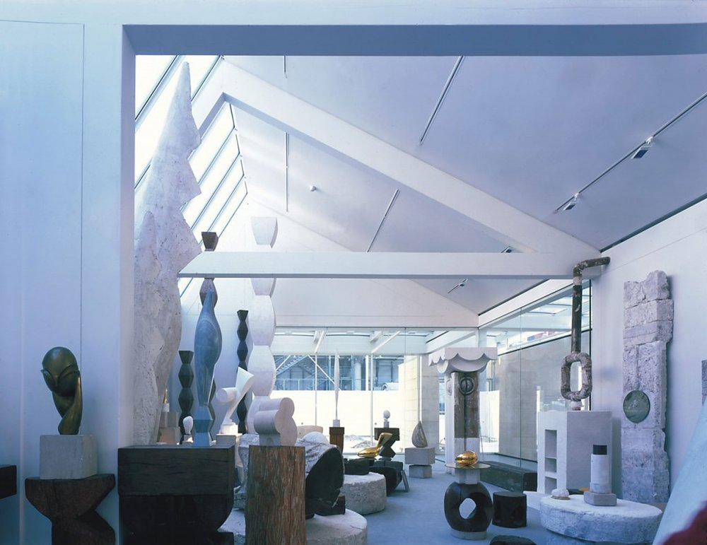 Atelier Brancusi, Paris credit photo RPBW