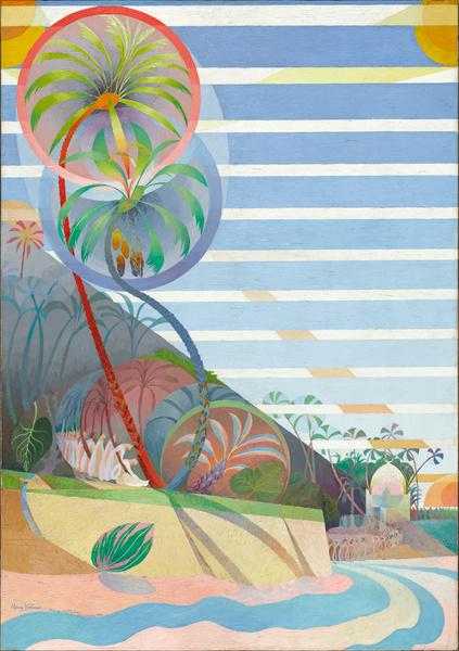 Henri Valensi, Mariage des palmiers, 1921