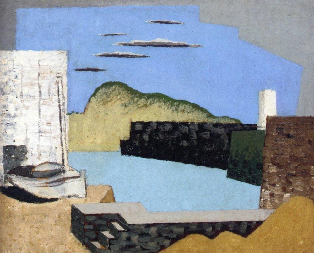 Louis Marcoussis, Paysage de Kerity, 1927