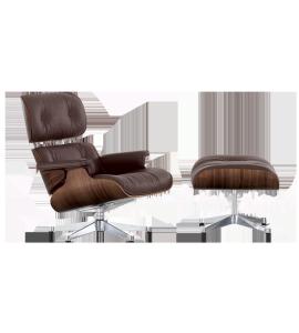 Lounge Chair et son ottoman