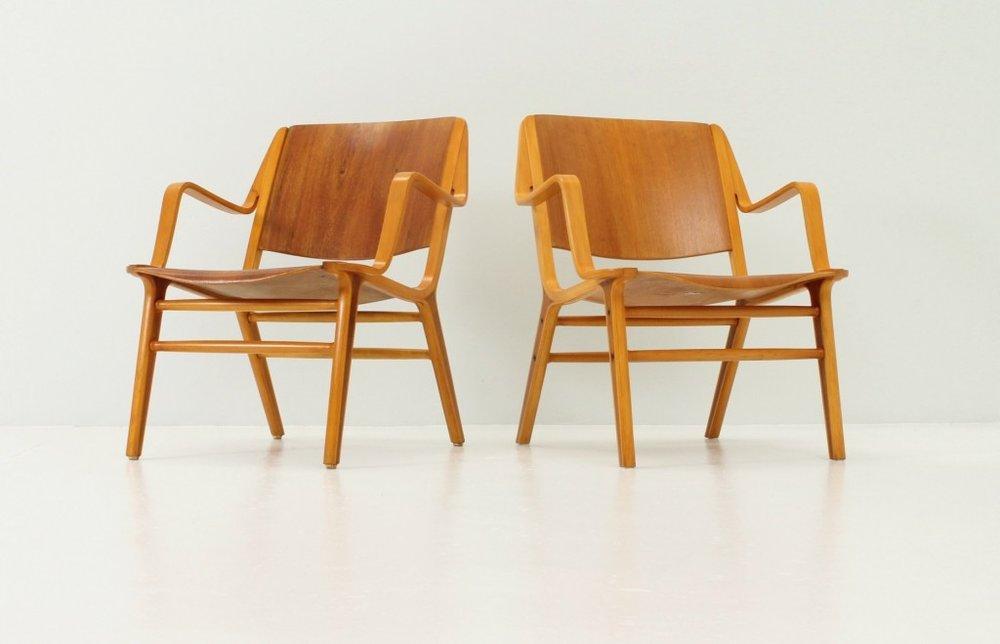 Hvidt et Molgaard, chaise Ax