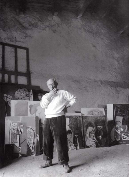 Portrait de Pablo Picasso, 2 juin 1954 in Vallauris, France