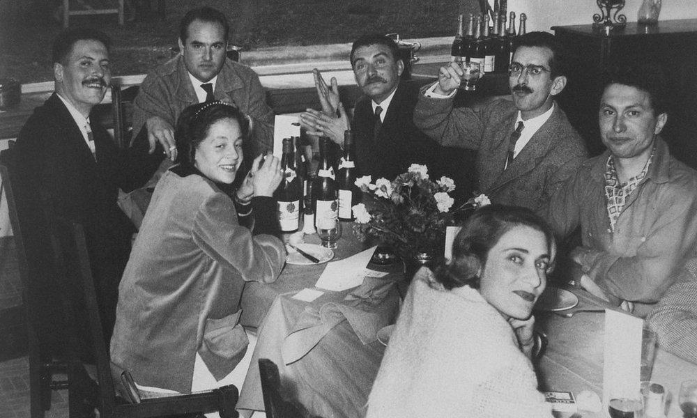 Jean Derval, Robert Picault et Roger Capron