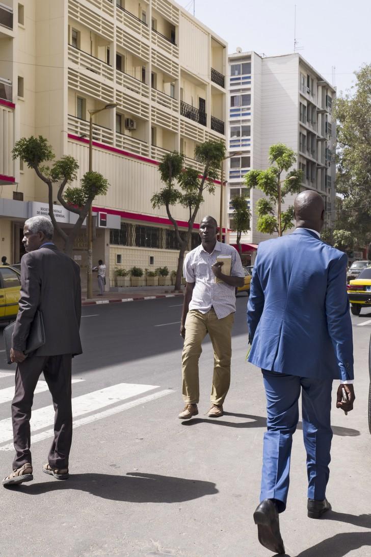 Avenue du Pr. L. Sedar Senghor, Dakar, Sénégal, 4 mars 2017.