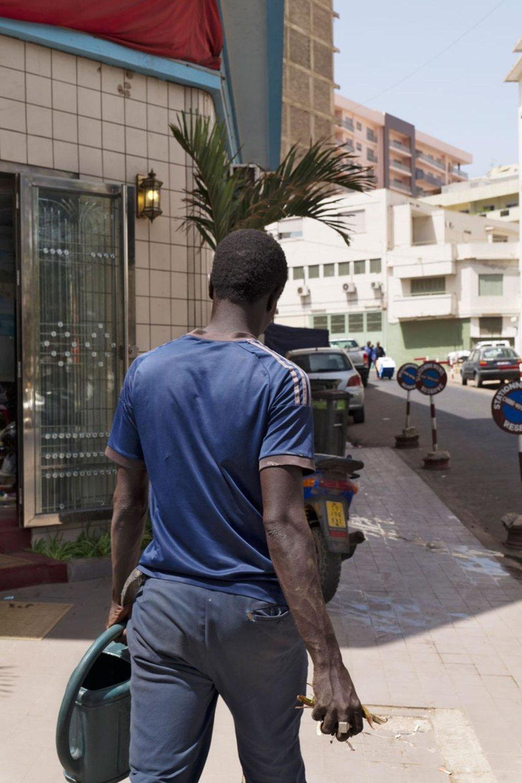Rue Dr Theze, Dakar, Sénégal, 4 mars 2017.