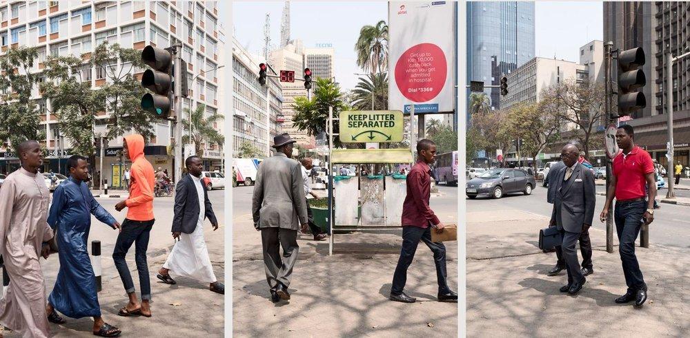 Kenyatta Avenue, Nairobi, Kenya, 8 mai 2017.