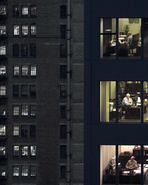 Michael Wolf - Chicago, transparent city, 2008