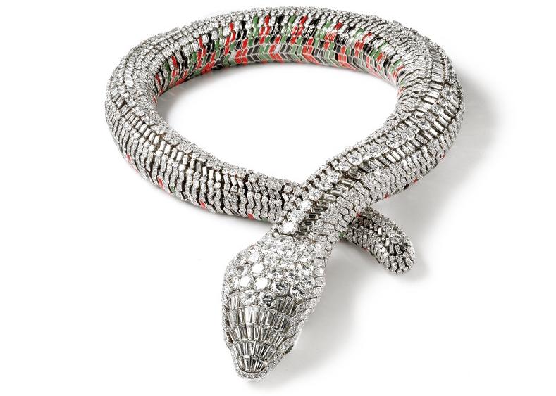 Collier Serpent, Cartier Paris, commande de 1968