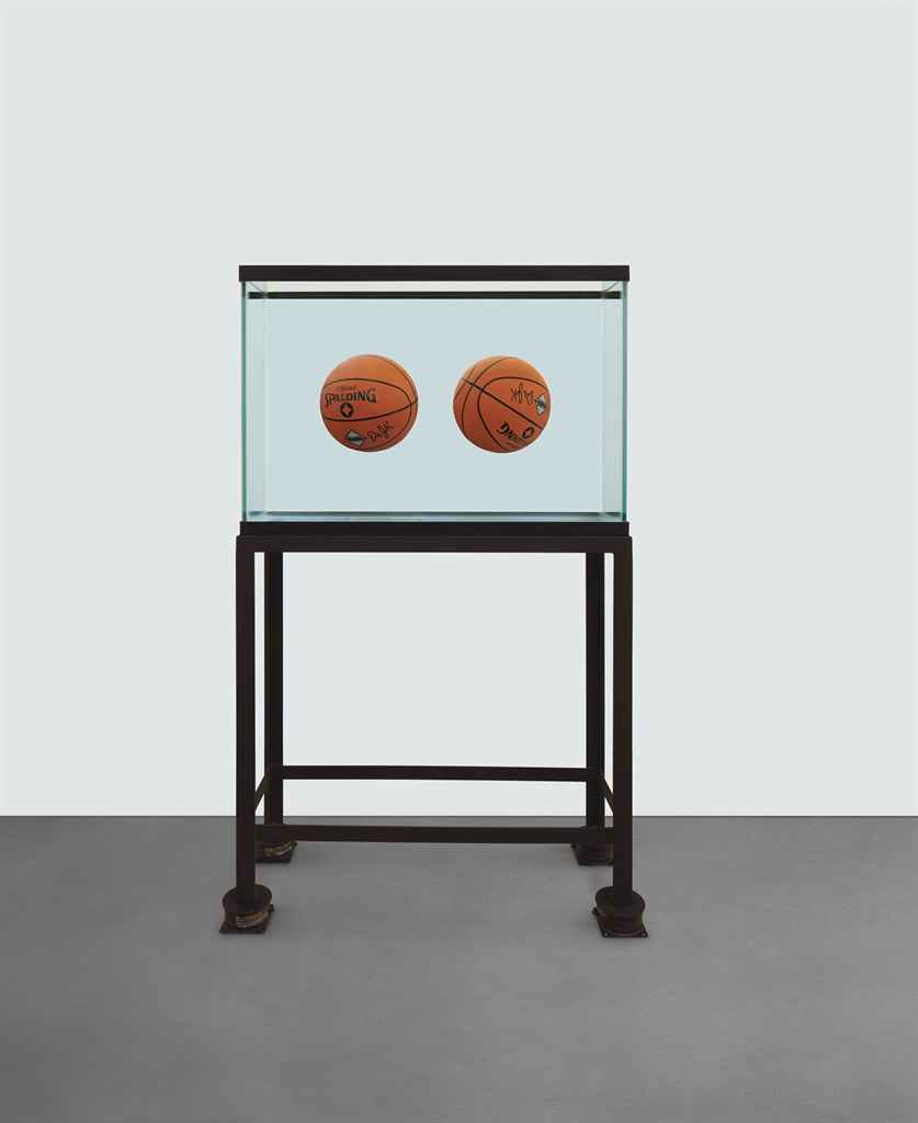 "Jeff Koons, ""One Ball Total Equilibrium Tank"", 1985"