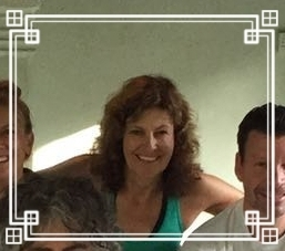 """""""Thanks to Dhugal, this devoted runner (and former yoga skeptic!) is in better shape than ever. Dhugal's excellent teaching is positive, thoughtful and fun, keeping me physically challenged,mentally stimulated and inspired to learn more.""""- Karen."""