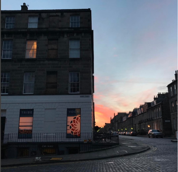 location  Tribe yoga, edinburgh - Scotland