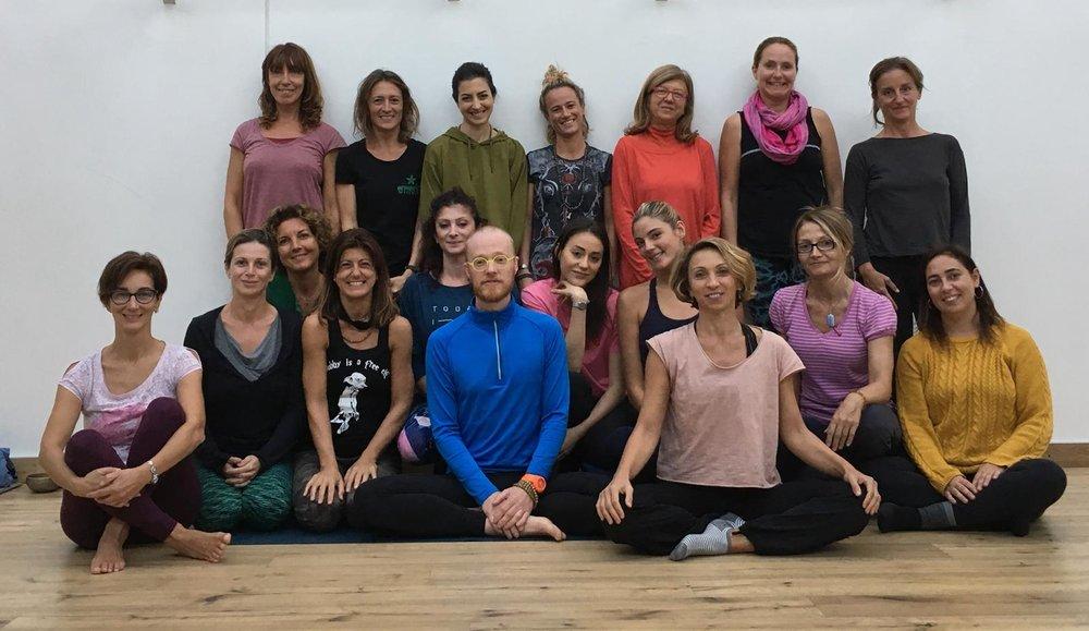 yin yoga 200hrs - INNER REVOLUTION STUDIO, MILAN, ITALY