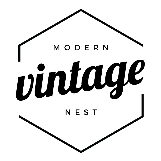Cluster Modern Vintage Nest Sidehall Prints Digital Art Print