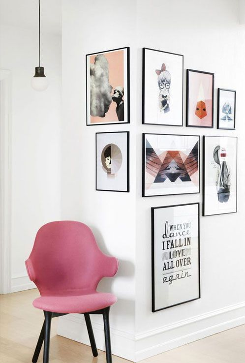 Lately On Pinterest: Art, Framing, Gallery Wall Ideas U2014 Modern Vintage Nest  + Sidehall Prints | Digital Art Print Shop, DIY, Interior Design +  Decorating, ...