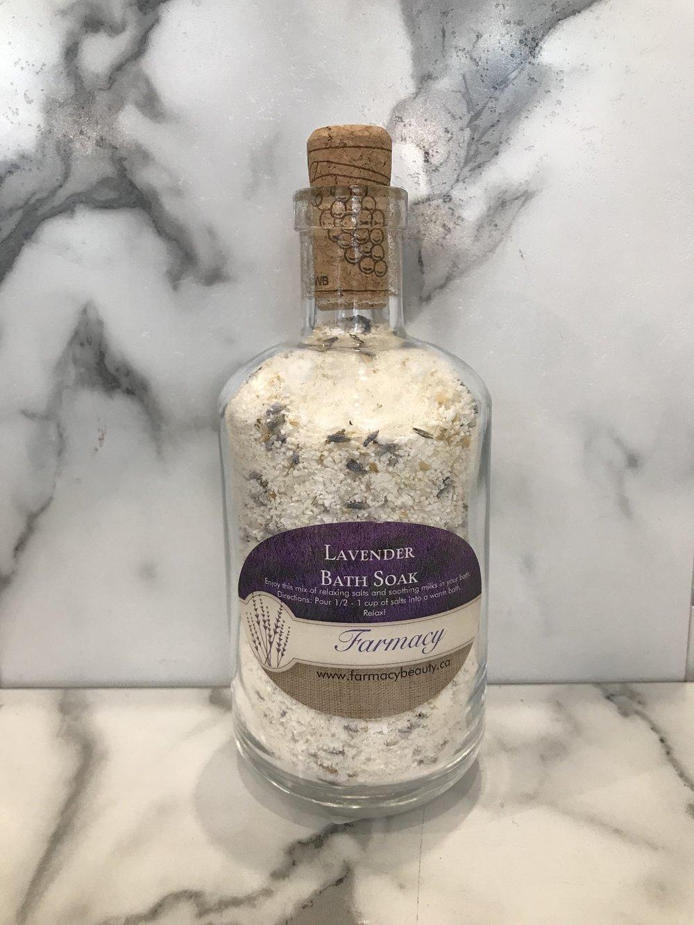 Lavender Bath Soak - $10.95
