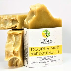 Double Mint Handmade Soap - $10.95