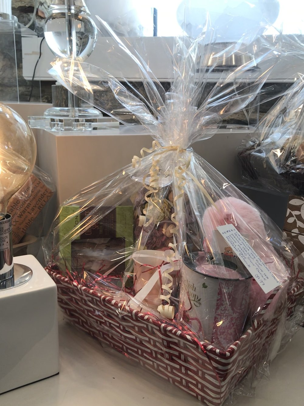 Gift Baskets - range from $40 to $50
