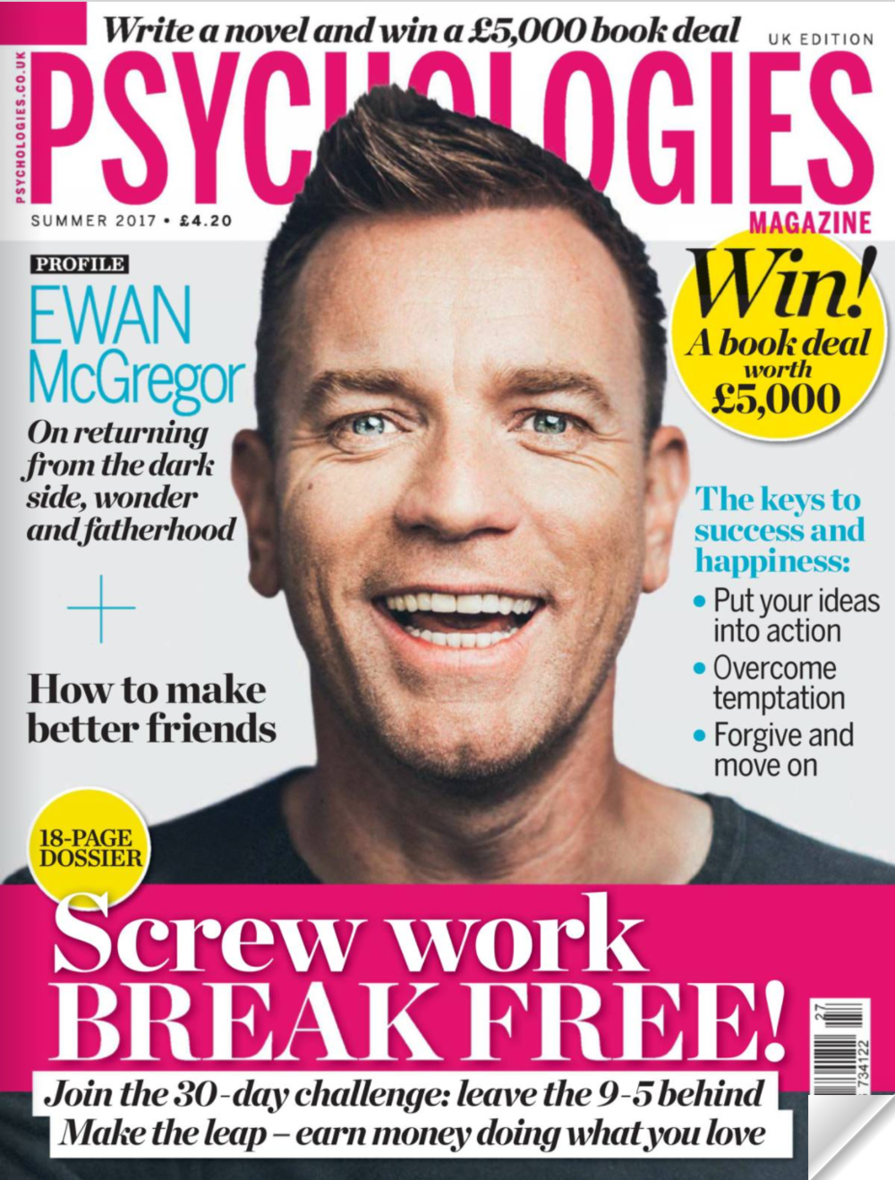 interview in psychologies magazine - ways into wonder