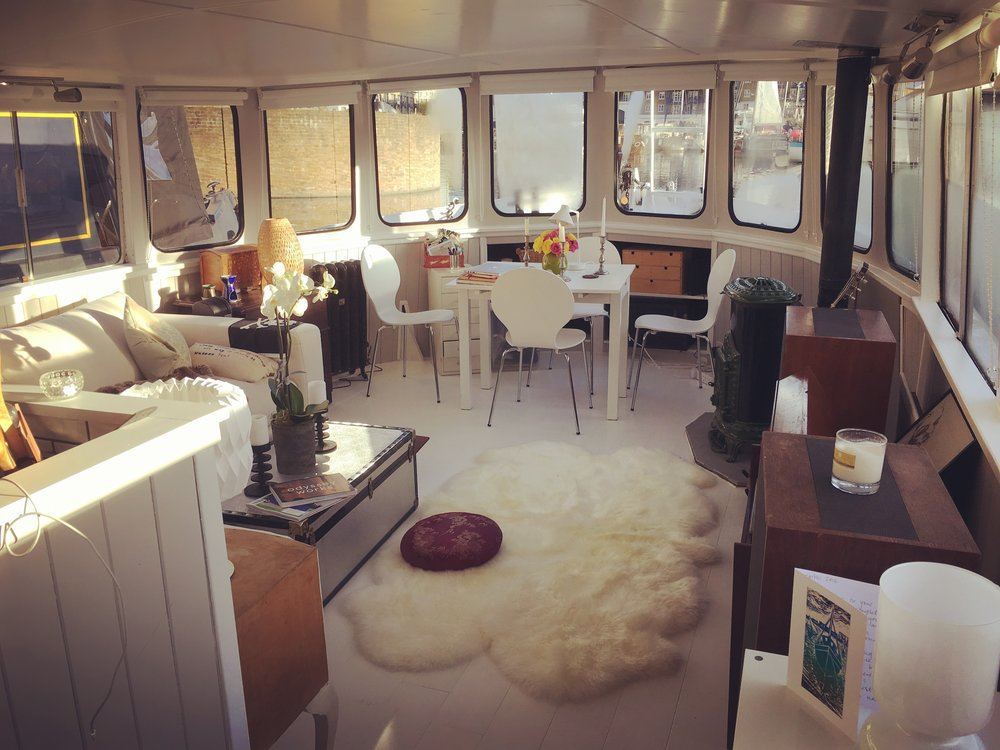 my houseboat -