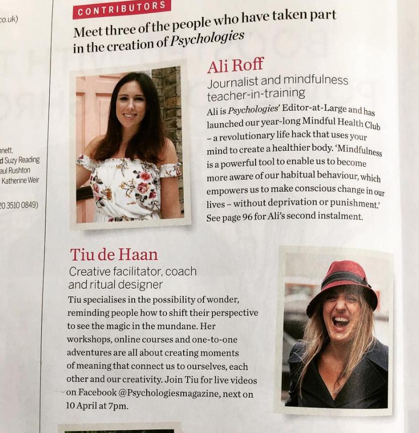 featured contributor psychologies magazine - april 2019