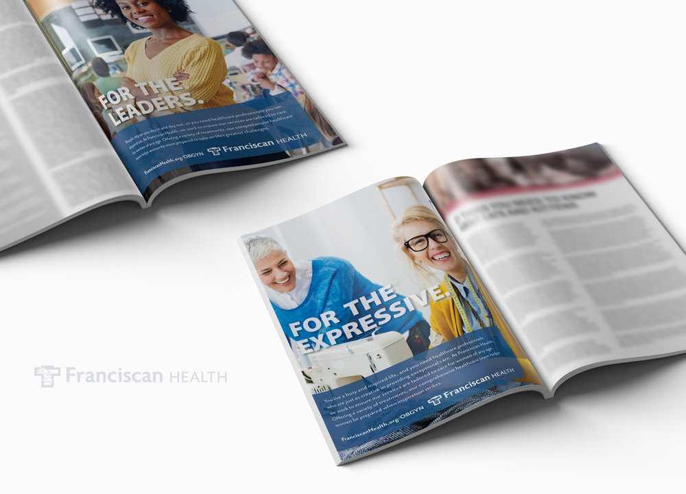 Franciscan Health Print Ads