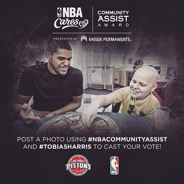#TobiasHarris #NBACommunityAssist