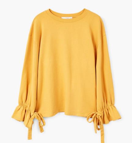 Mango mustard jumper