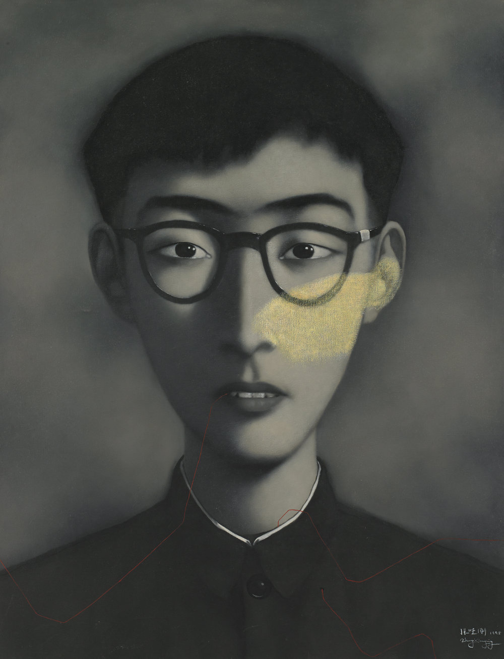 "Zhnag, Xiaogang "" Blood Line Series "" 1995 BASMOCA"