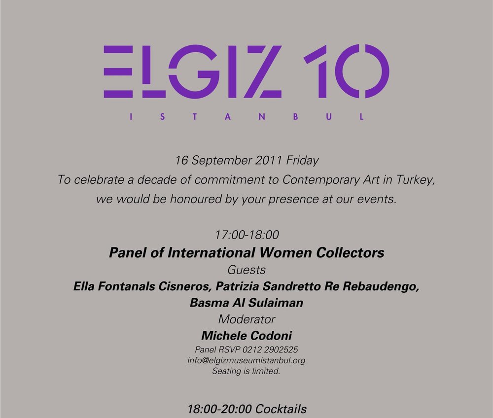 Panel of International Women Collectors BASMOCA 2011