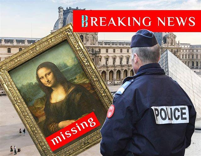 خبر عاجل—تم سرقة الموناليزا!  باريس - استدعى أمن متحف اللوفر الشرطة اثناء الليل عندما لاحظوا أن لوحة دافينشي الأكثر شهرة في العالم لم تعد موجودة في إطارها. وفي الوقت الحالي يعتقد رجال الشرطة بان السرقة كانت قد تمت من قبل موظف في المتحف، حيث لم تطلق أي صفارة إنذار أثناء السرقة. والمزيد من التفاصيل المحيطة بهذا الحادث لا تزال تتوارد، وتحاول الشرطة تحديد مكان العديد من موظفي المتحف للتحقيق معهم. وكان قد تم سرقة الموناليزا من قبل—منذ أكثر من 100 عام، على يد عامل بارع تم تعيينه لبناء صناديق زجاجية لعدد من اللوحات. المزيد من التفاصيل عن هذه القصة مع تطور الأحداث.  BREAKING NEWS—MONA LISA STOLEN  PARIS - Police were called to the Lourve overnight by museum security when they noticed that Da Vinci's famous painting was no longer in its frame. At present it is believed to be an inside job, as no alarms were tripped during the theft. Details are still coming in, and police are attempting to locate several members of museum staff for questioning. The Mona Lisa was stolen once before, over 100 years ago, by a handyman who had been hired to build glass cases for a number of paintings. More on this story as events unfold.