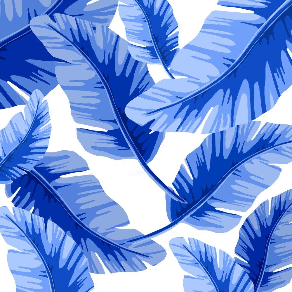 Bluebananaleafprint