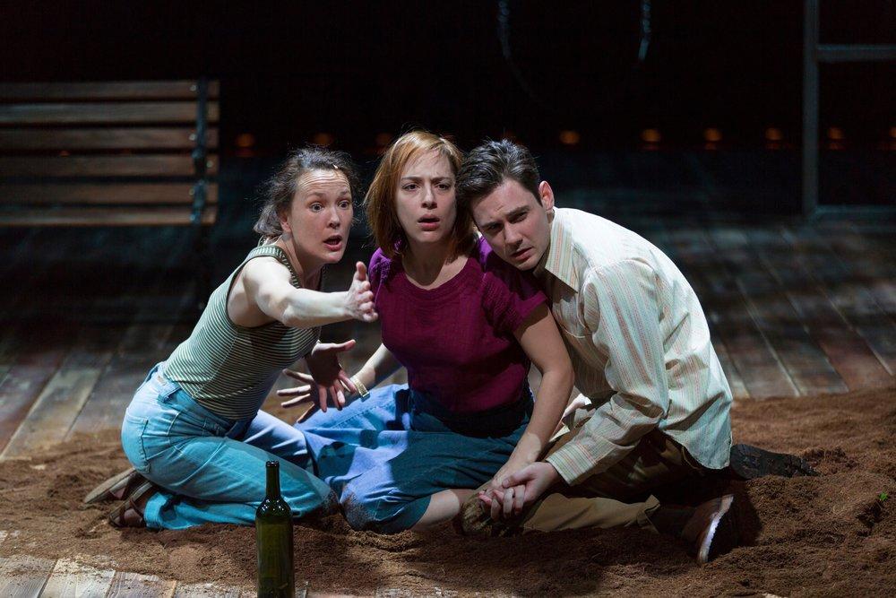 Sarah Lemp, Emily Gunyou Halaas and Tom Pecinka