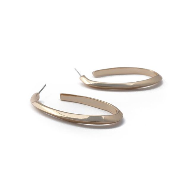 feeling the love wave today. treat yourself to some tide hoop earrings