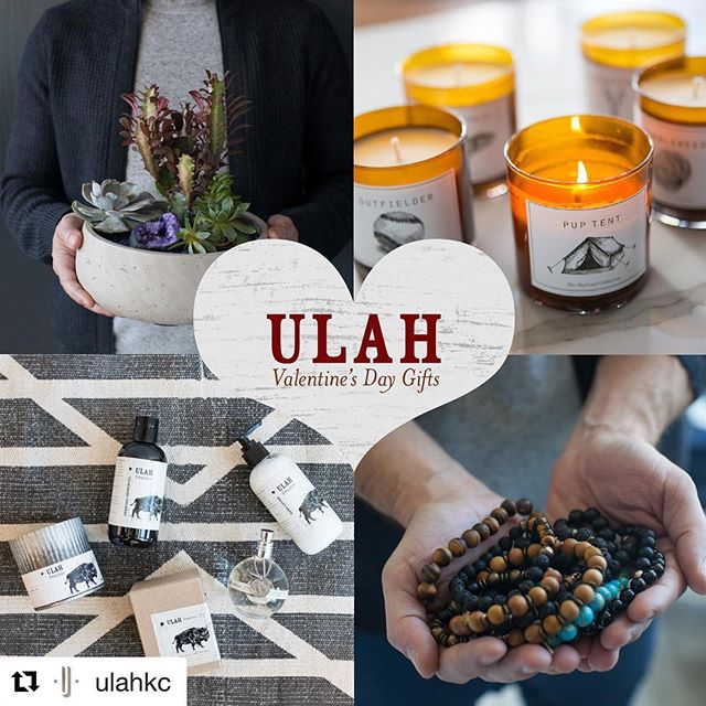 Check out ULAH's Valentine's Day Gift Guide: Visit their store or checkout their blog post on www.ulahkc.com for great gift ideas! #valentinesdaygift #shoplocal #shoplocalkc #giftsforhim #giftguide #ulahkc #sunkissedearth #braceletsformen