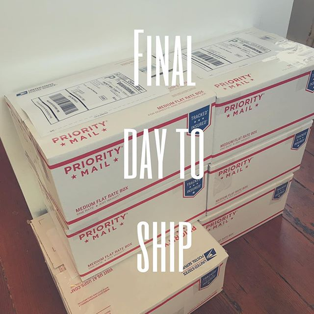 🚨 per USPS, today is the final day to ship to insure delivery by Christmas! #shipping #usps #christmasdelivery