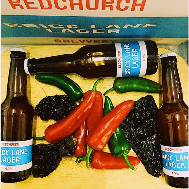 Prepping that @redchurchbrewer Lager hot sauce!  Four days til our pop up in #bethnalgreen. Link in bio.  #hotsauce #lager #lagersauce #chilli #cookingwithbeer #hackney #cambridgeheath #eastlondon #popup #eeeeeats #eatfamous #foodfeed #food #instafood #prep #cheflife #kitchen #london #londonfoodie #londonfood #lotiloves #buzzfeedfood