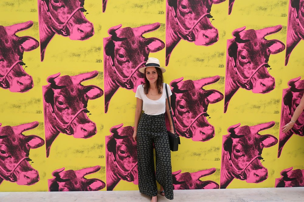 Museo Jumex had the most amazing Andy Warhol - Dark Star exhibit.